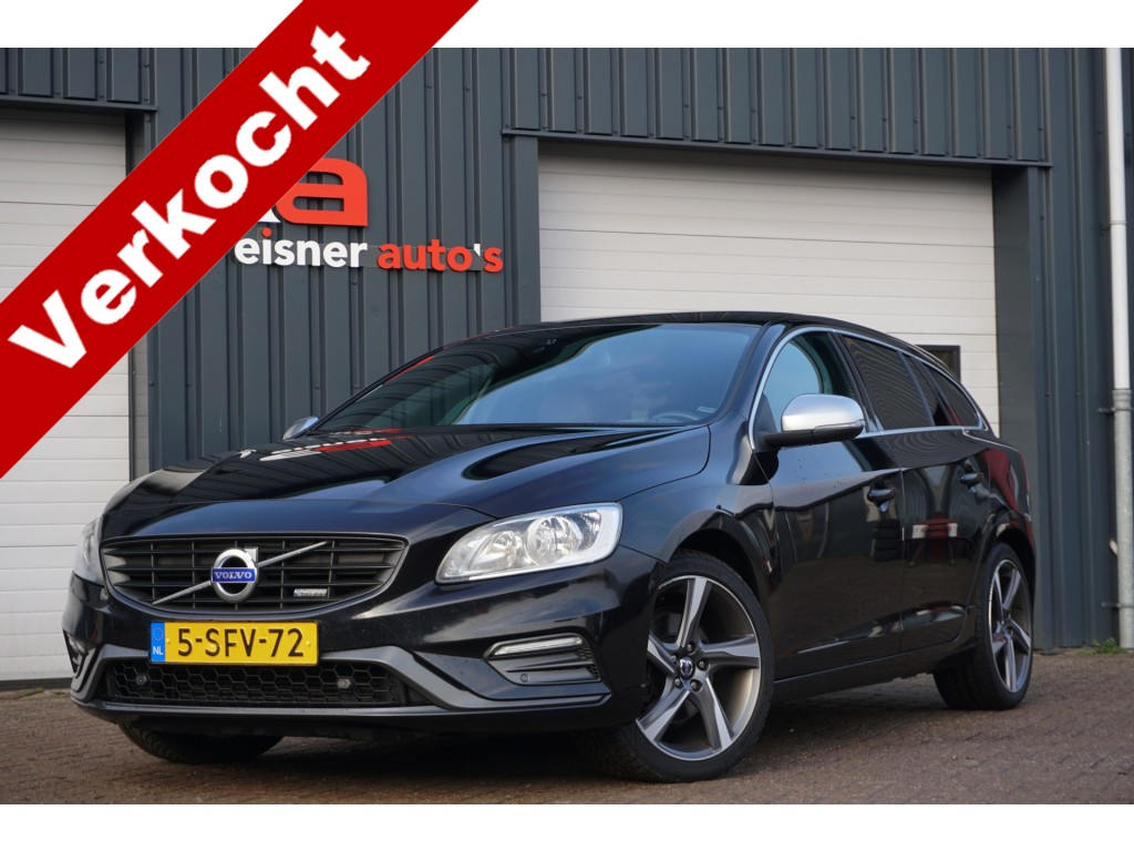 Volvo V60 1.6 D2 R-DESIGN | LEDER | DEALERONDERHOUDEN |