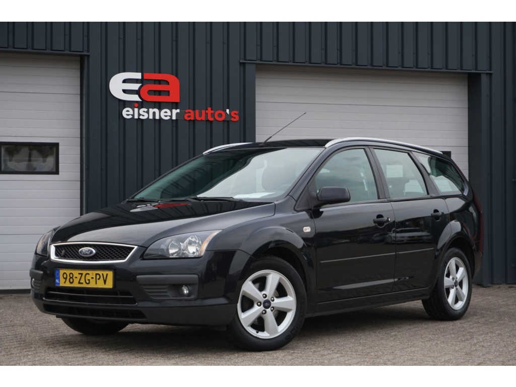 Ford Focus Wagon 1.8-16V AMBIENTE FLEXIFUEL | DEALEROND. | AIRCO | CRUISE | PDC |