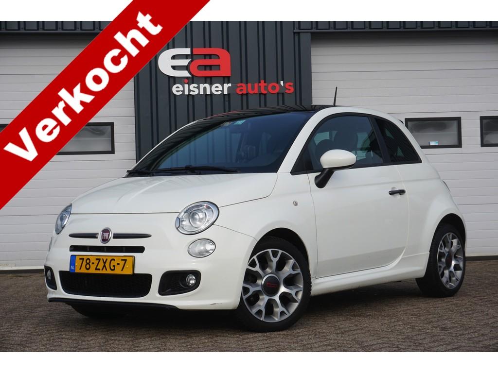 Fiat 500 0.9 TWINAIR 500S | LEDER | XENON | NAVI |