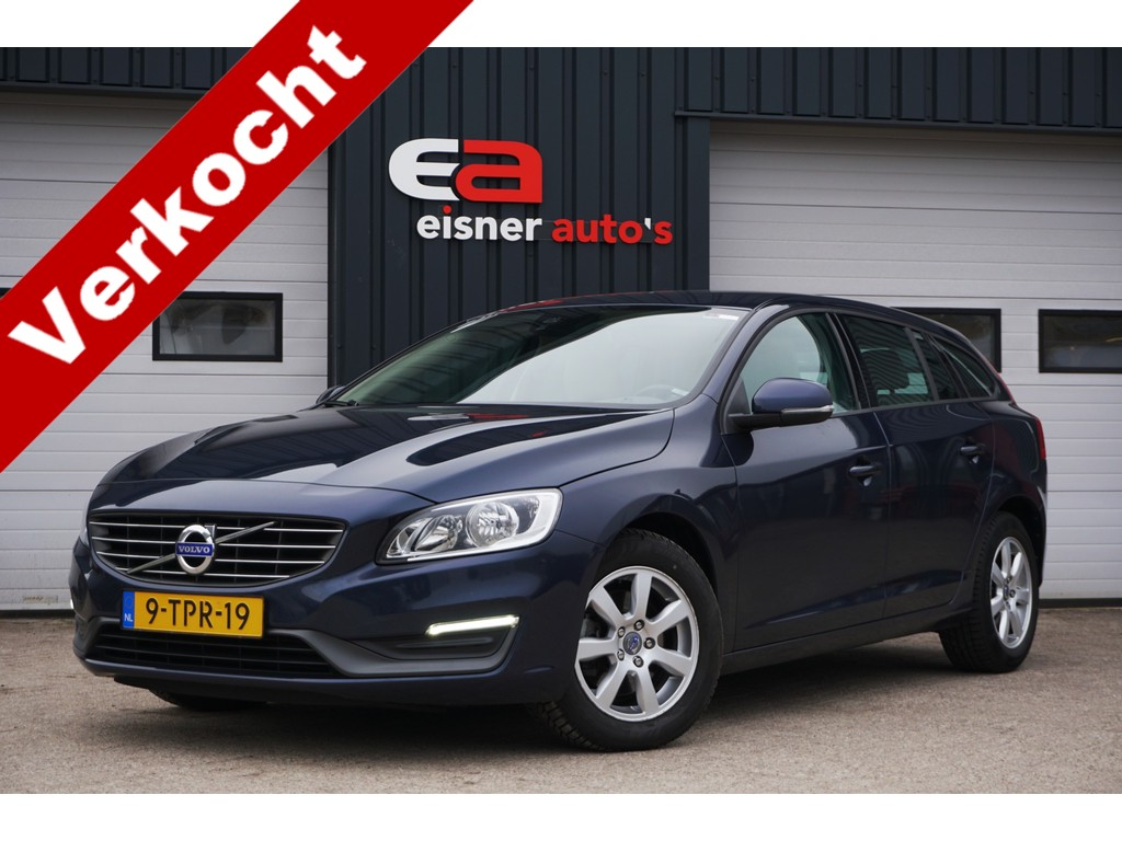 Volvo V60 1.6 D2 KINETIC | LEDER | DEALERONDERHOUDEN |