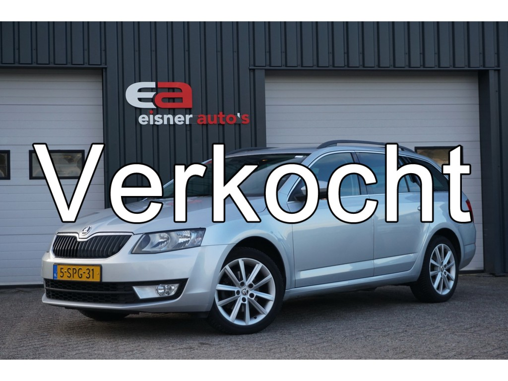 Skoda Octavia Combi 1.2 TSI Greentech Ambition Businessline | GROOT NAVI | TREKHAAK |
