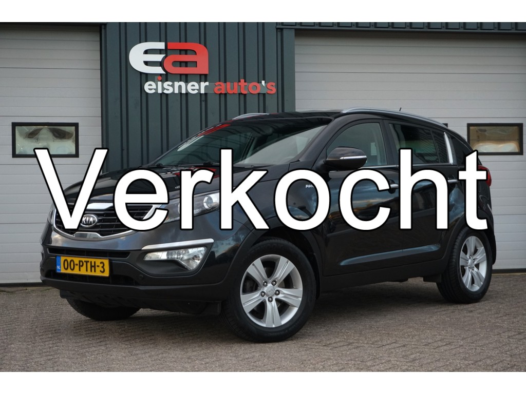 Kia Sportage 2.0 X-ecutive 4WD Plus Pack | TREKHAAK |
