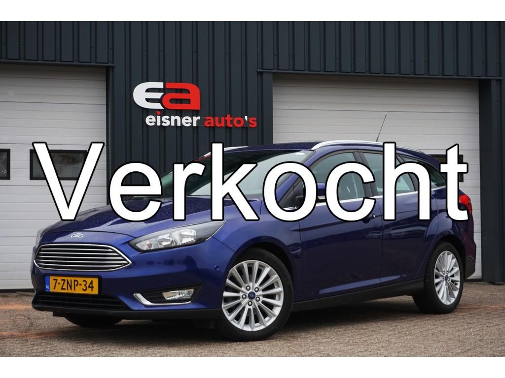 Ford Focus Wagon 1.5 TDCI Titanium Edition | DEALERONDERHOUDEN | NAVI | ECC |