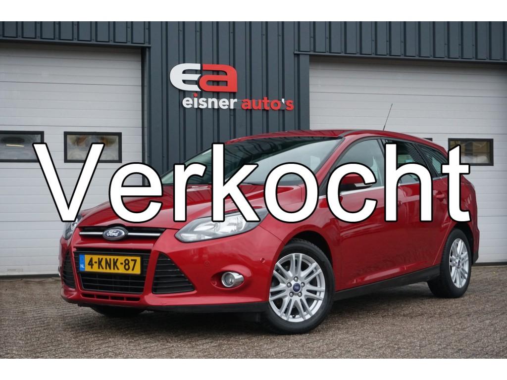 Ford Focus Wagon 1.6 TDCI Titanium | LEDER | NAVI | ECC |
