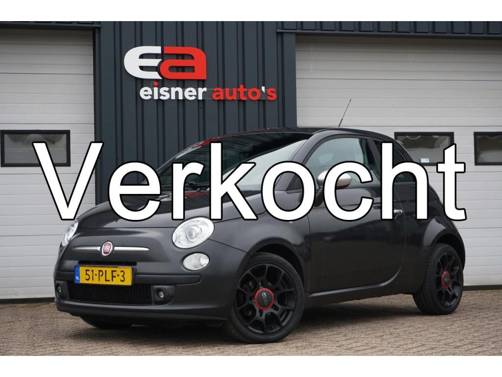 Fiat 500 0.9 TwinAir Blackjack | LEDER | XENON | 1E EIGENAAR |