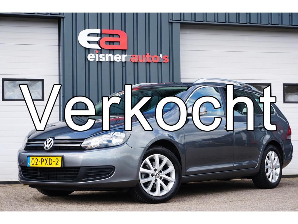Volkswagen Golf Variant 1.6 TDI Comfortline BlueMotion | navi | cruise / climat control | trekhaak |dealer onderhouden |