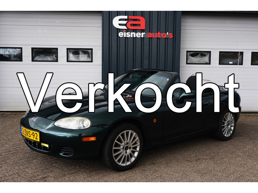 Mazda MX-5 1.6i Exclusive | Airco | kofferrek | nette kap ! |