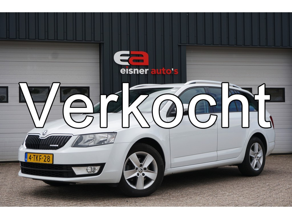Skoda Octavia Combi 1.6 TDI Greenline Businessline | TREKHAAK | METALLIC |