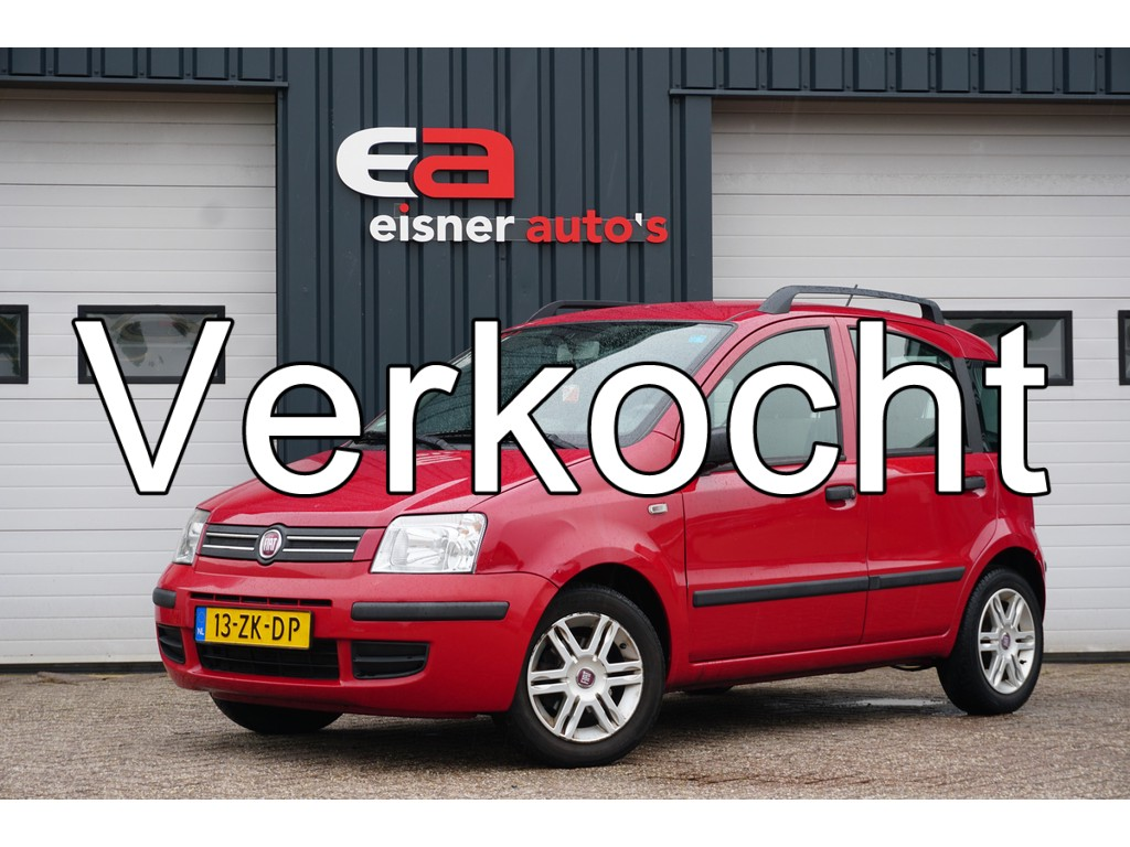 Fiat Panda 1.2 Emotion | AIRCO | TREKHAAK |