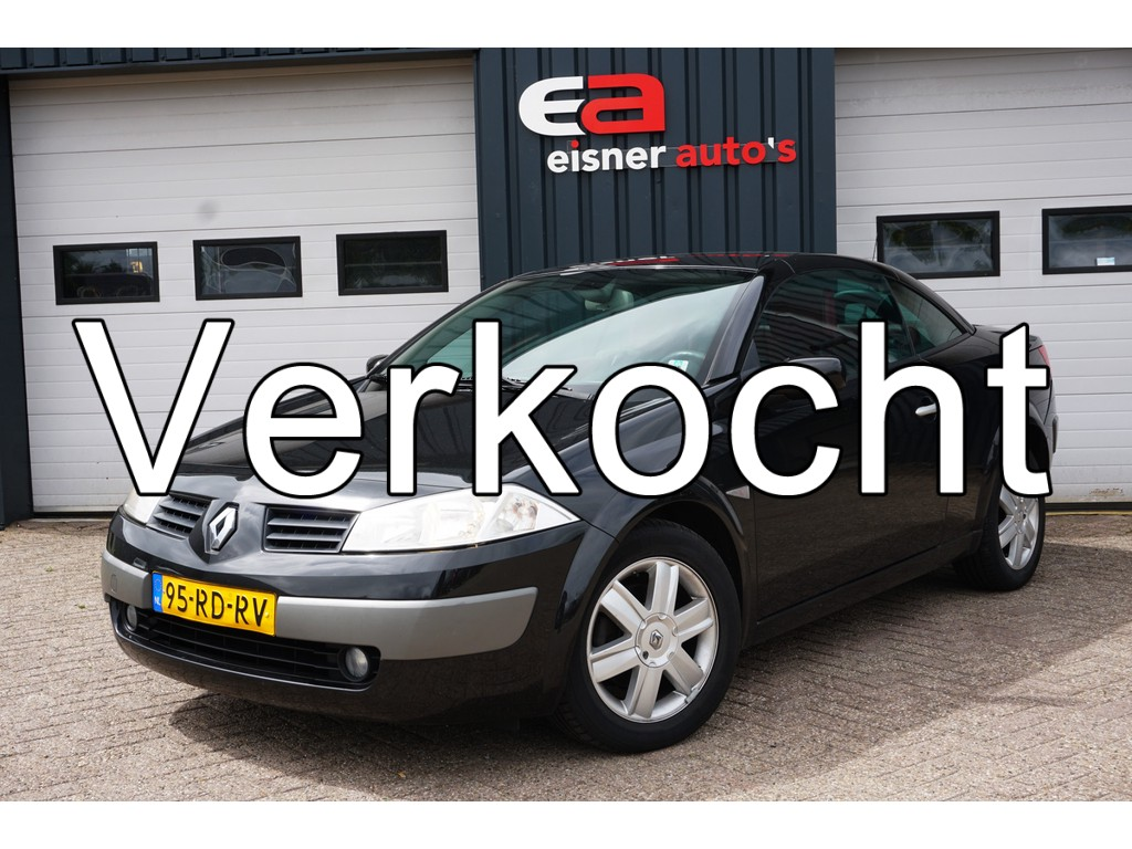 Renault Megane Coupe cabriolet 2.0-16V Privilege Luxe | van 1e eigenaar | climate / cruise control |