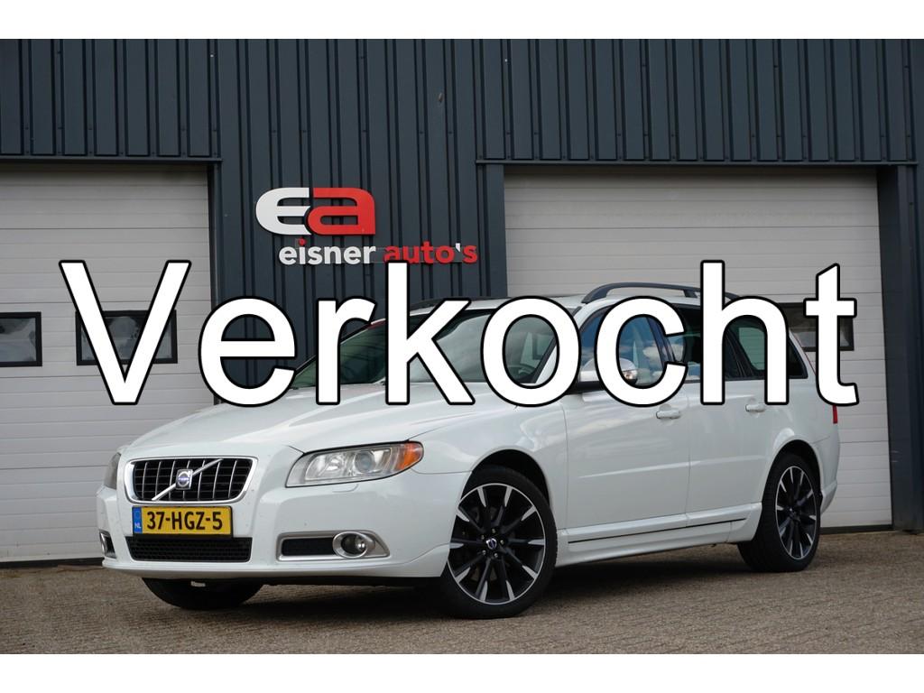 Volvo V70 2.4D AUTOMAAT | LEDER | XENON | SCHUIFKANTELDAK |