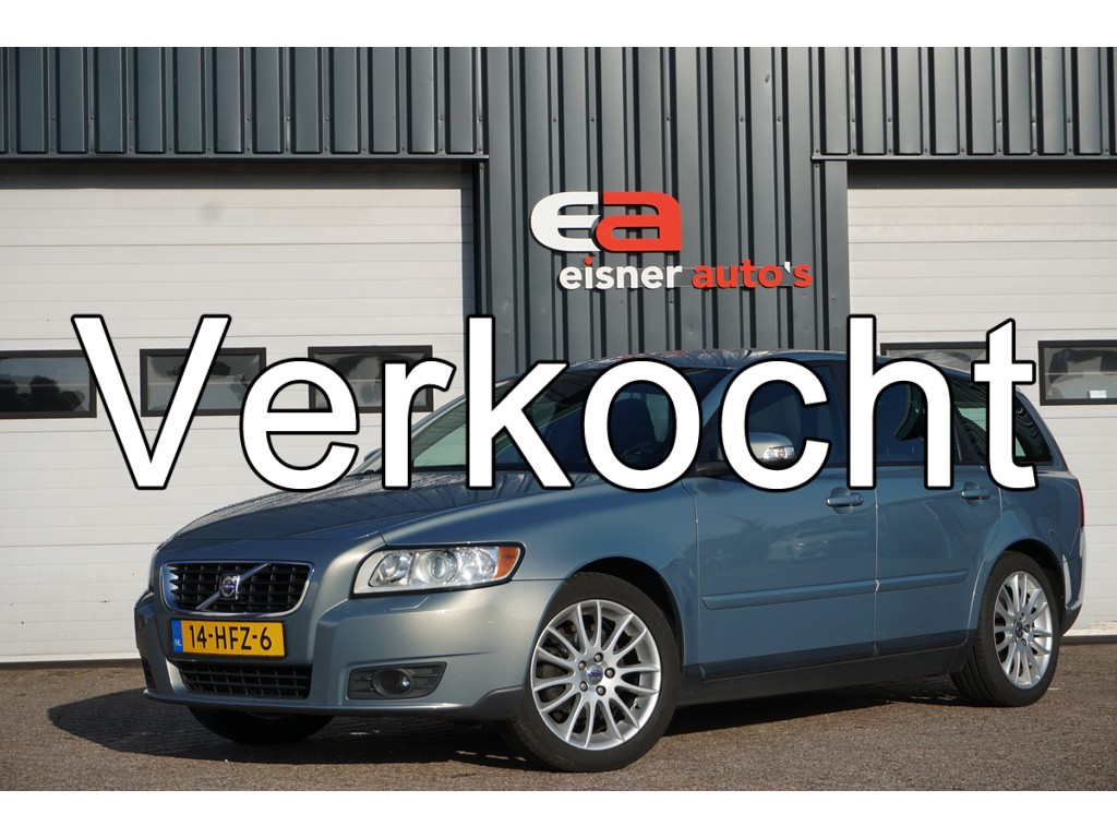 Volvo V50 1.8 Edition I | ECC | TREKHAAK |