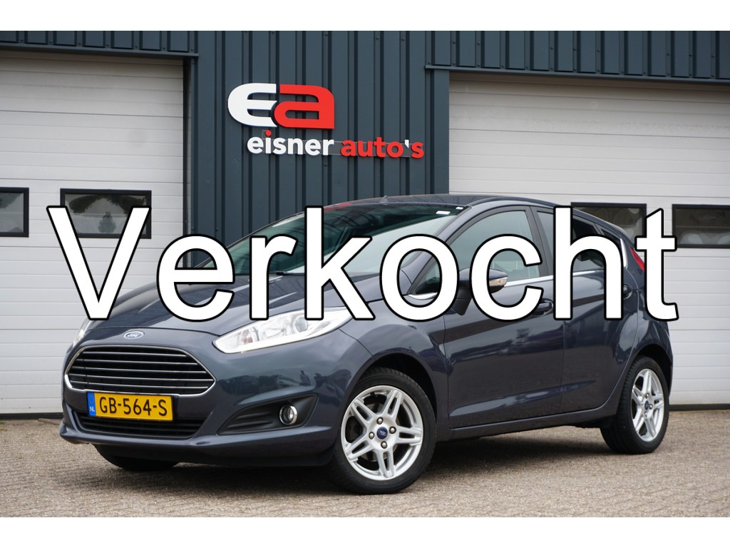 Ford Fiesta 1.0 EcoBoost 125 PK Titanium   NAVI   ECC  