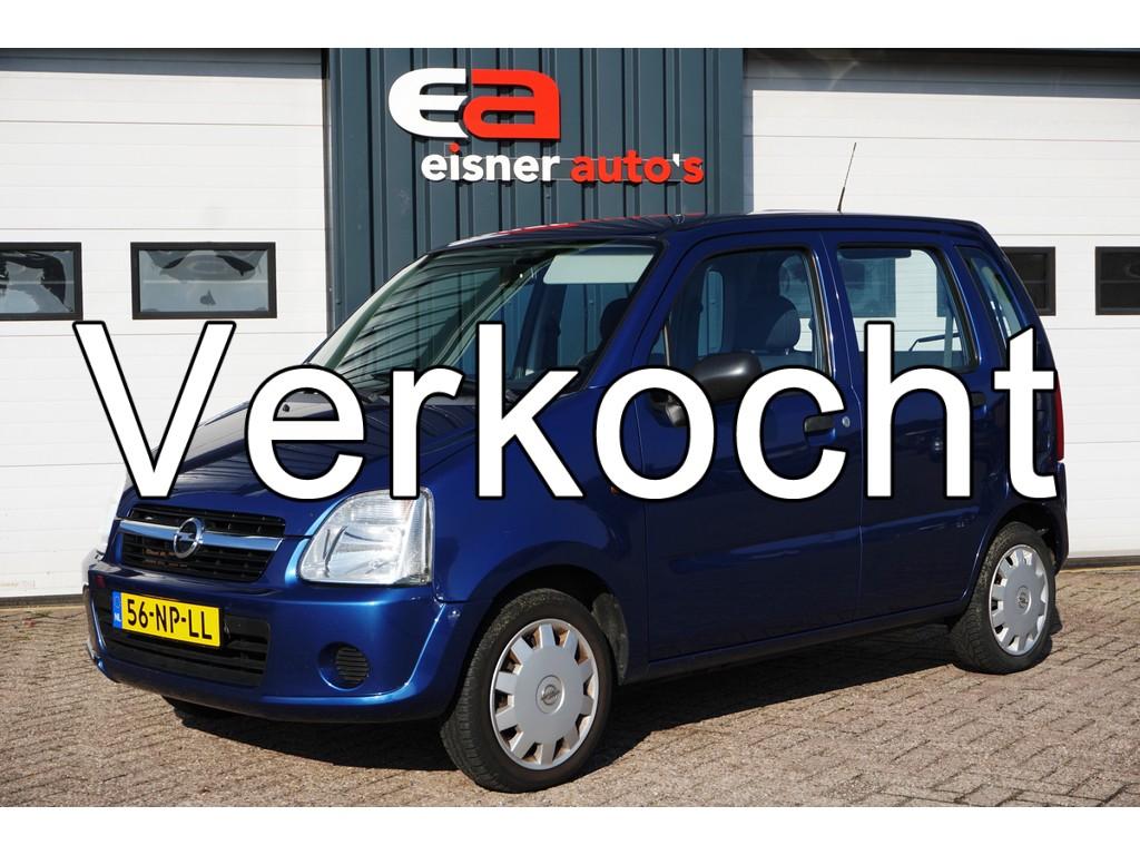 Opel Agila 1.0-12V Essentia | 1e eigenaar | recente APK |