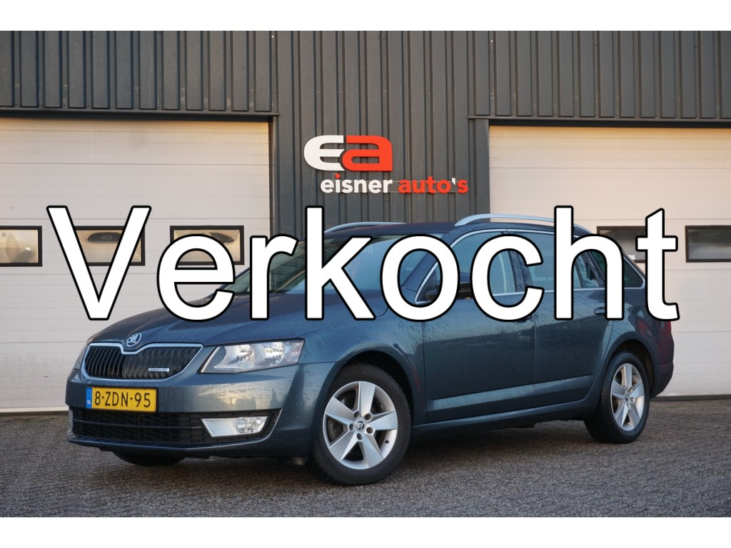 Skoda Octavia Combi 1.6 TDI Greenline Businessline | TREKHAAK | STOELVERWARMING