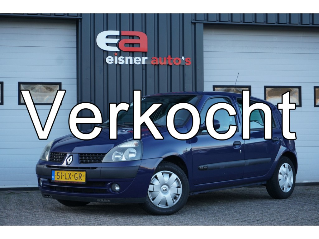 Renault Clio 1.4-16V Expression automaat | AIRCO | CRUISE | 5-DEURS |