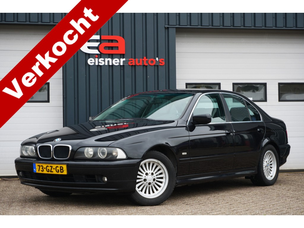 BMW 5 Serie 520i Executive AUTOMAAT | NAP | YOUNGTIMER | CLIMATE | CRUISE |