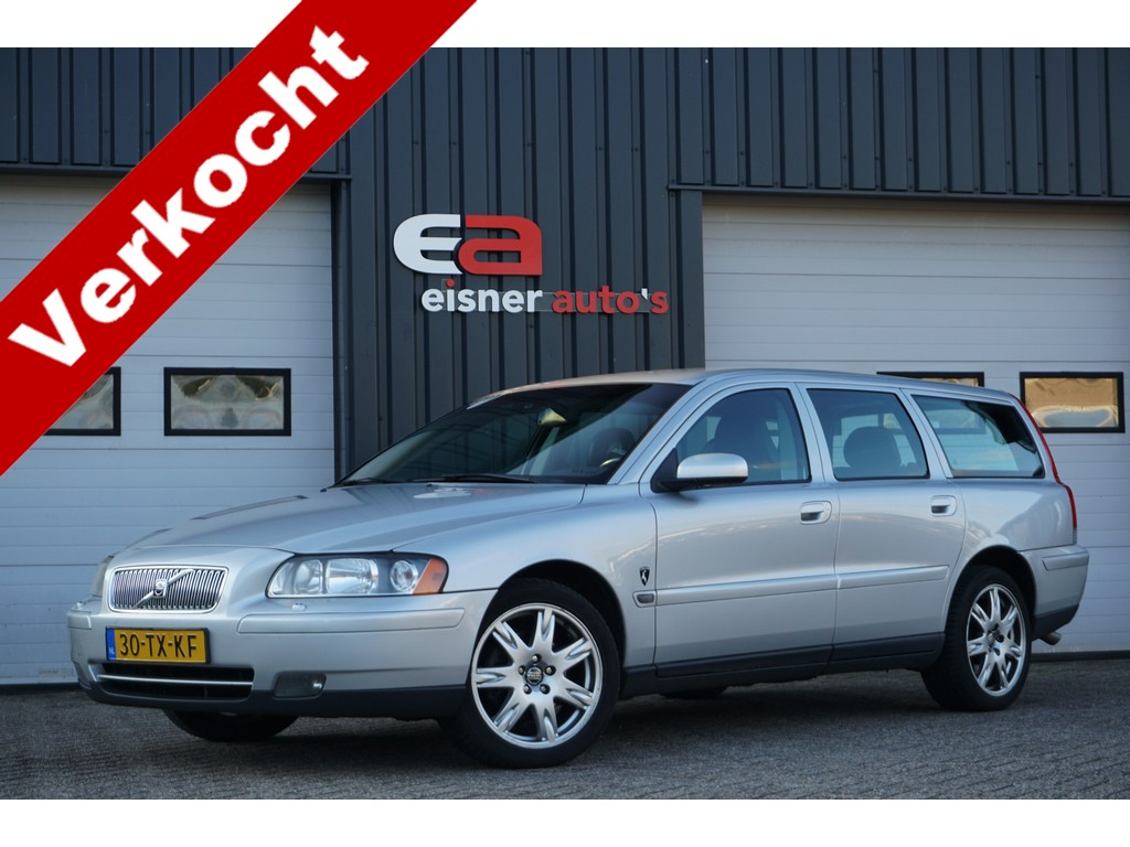 Volvo V70 2.4 Edition II | LEDER | NAVI | STOELVERWARMING