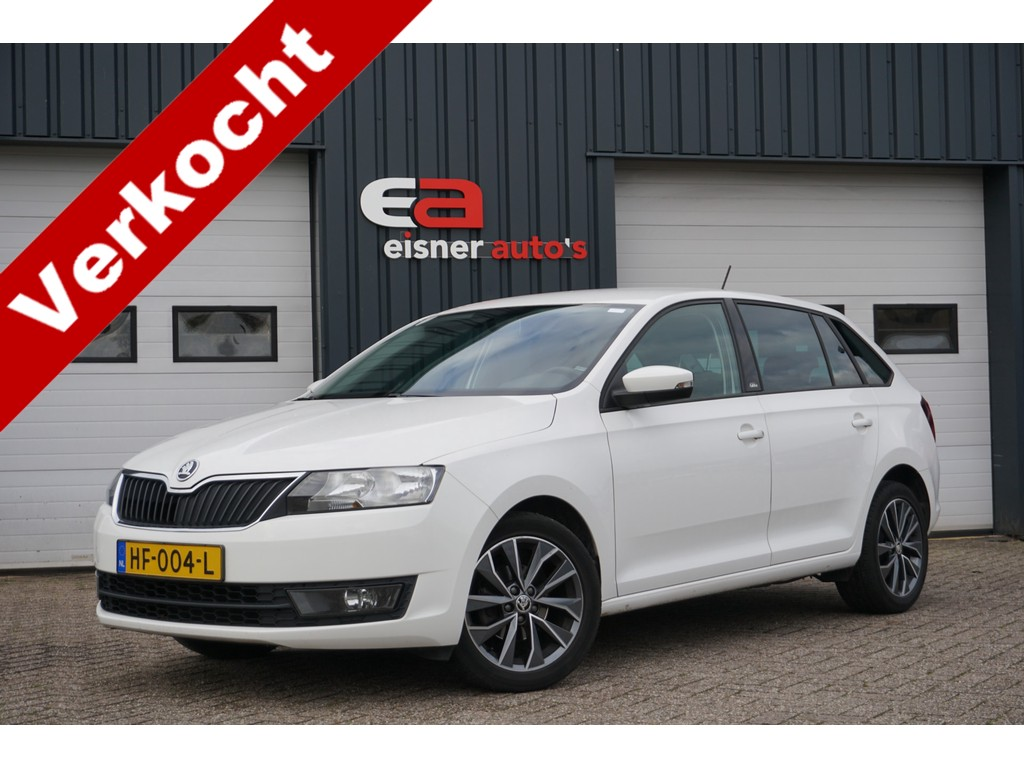 Skoda Rapid Spaceback 1.2 TSI Greentech Edition | NAVI | TREKHAAK | STOELVERWARMING