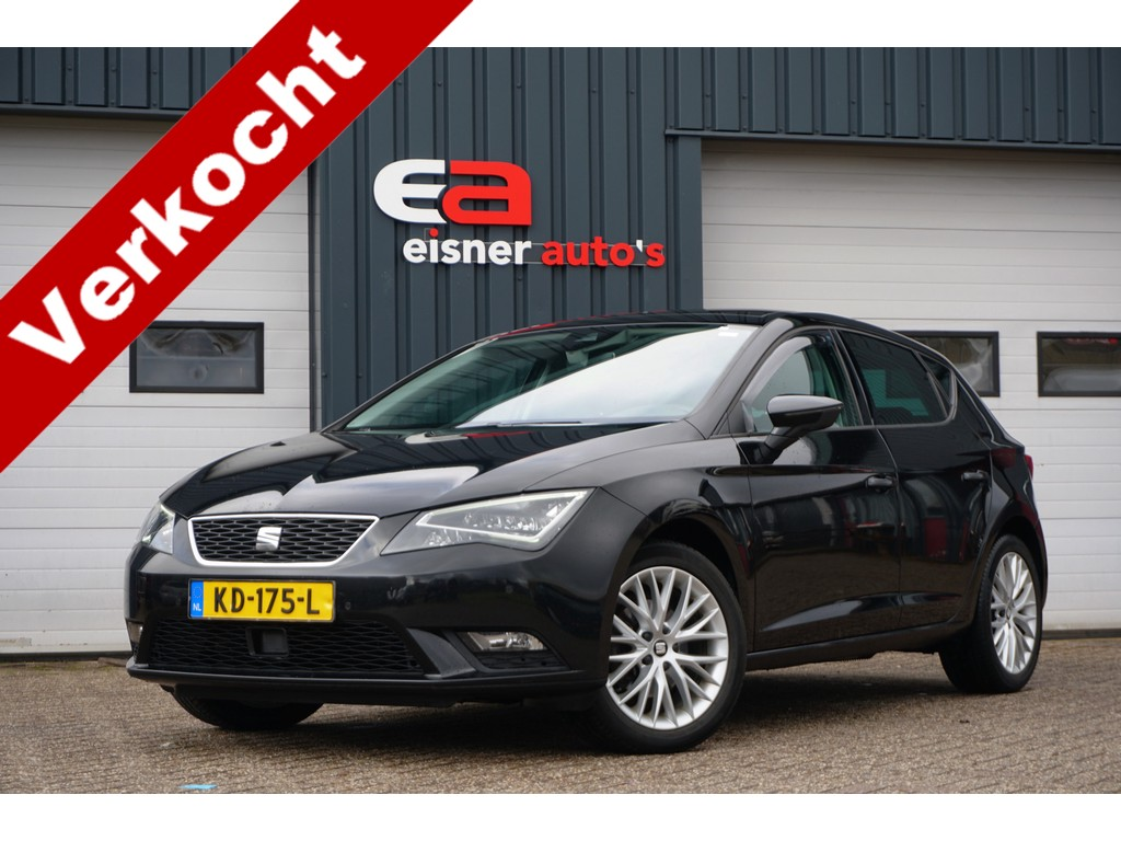 SEAT Leon 1.4 TSI 150 PK Style Connect | LEDER/ALCANTARA | FULL LED | PANO DAK | CAMERA