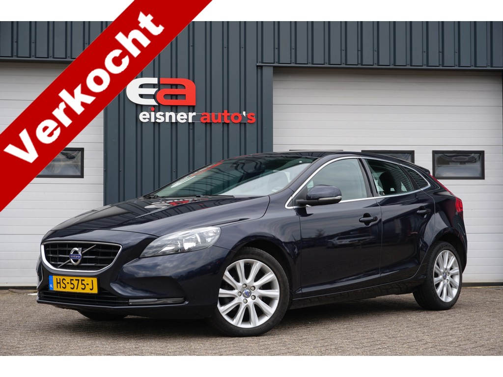 Volvo V40 2.0 D2 Summum Business | LEDER | DEALERONDERHOUDEN