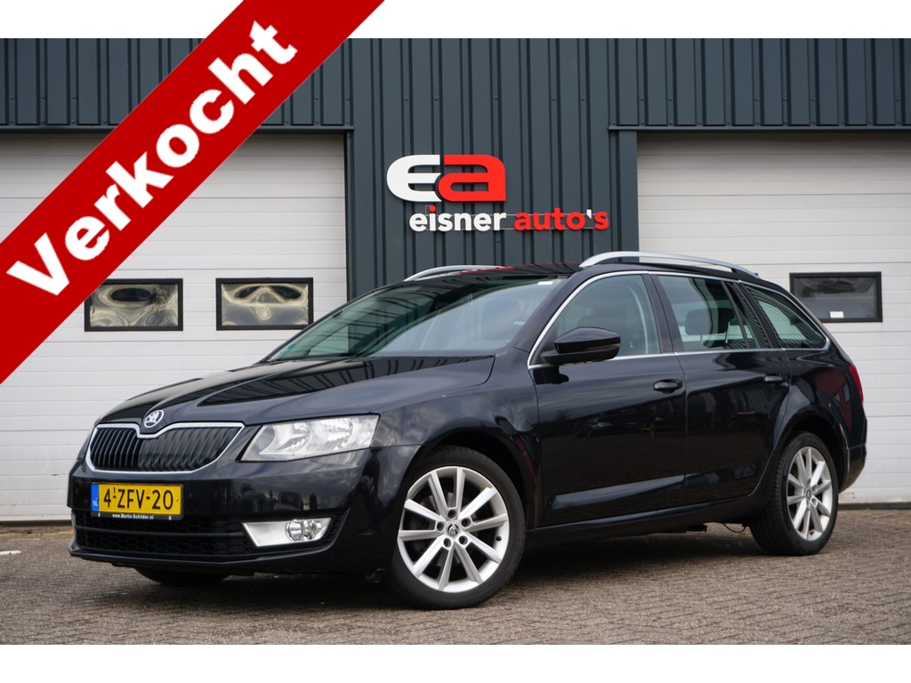 Skoda Octavia Combi 1.4 TSI 140 PK DSG Greentech Ambition Businessline | TREKHAAK | STOELVERWARMING |