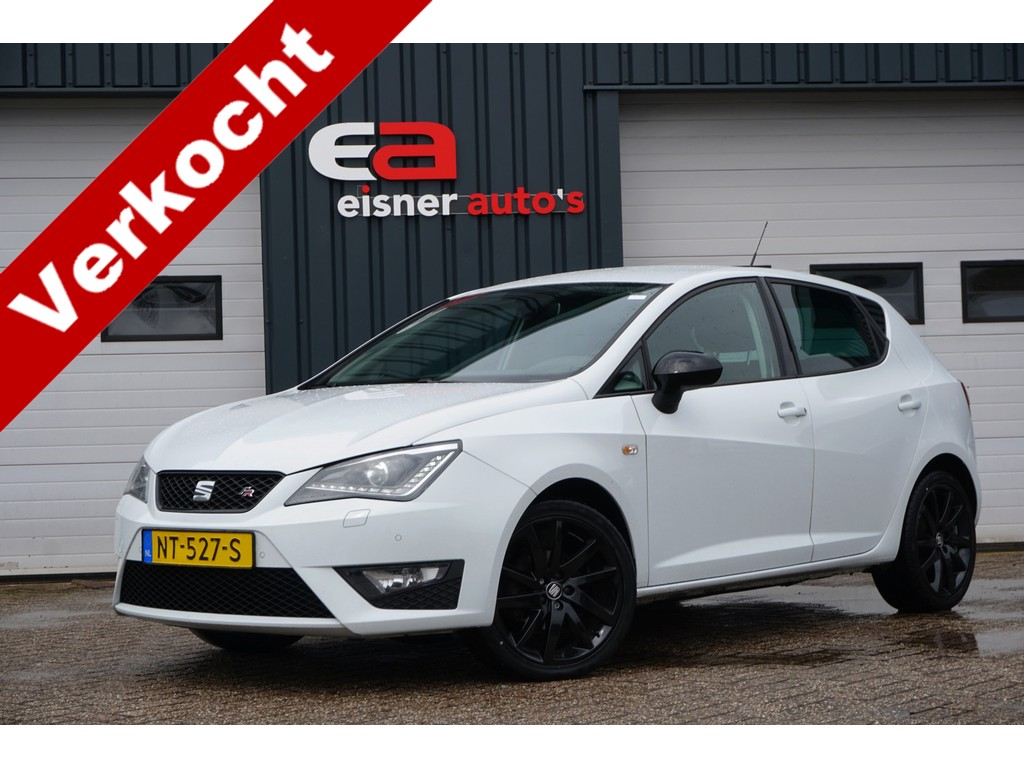 SEAT Ibiza 1.0 TSI FR Connect | XENON | CAMERA | STOELVERWARMING