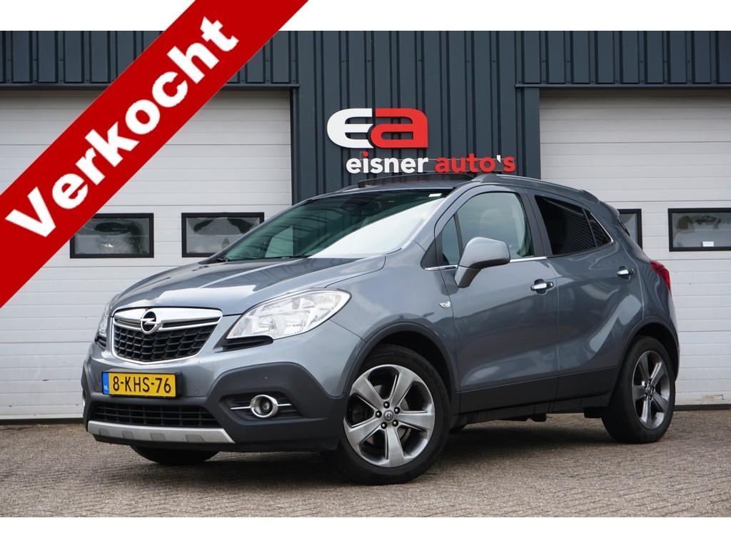 Opel Mokka 1.6 Cosmo   LEDER   SCHUIF/KANTELDAK   TREKHAAK   NL AUTO